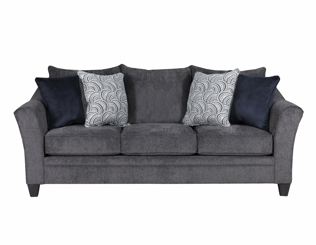 Simmons Upholstery Heath Sofa Reviews Birch Lane ~ Simmons Leather Sofa Review