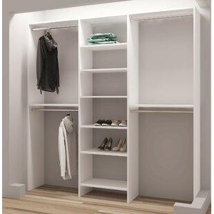 Demure Design 81 W Closet System