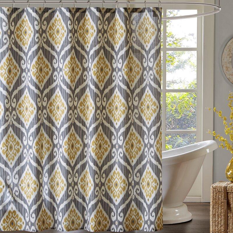 Alexander Printed Single Shower Curtain
