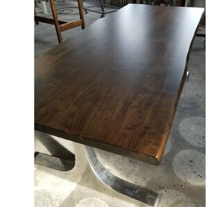 Selden Live Edge Maple Dining Table by Union Rustic