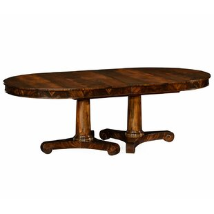 Knightsbridge Biedermeier Extendable Solid Wood Dining Table