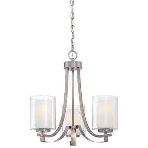 Bensenville 3-Light Candle-Style Chandelier