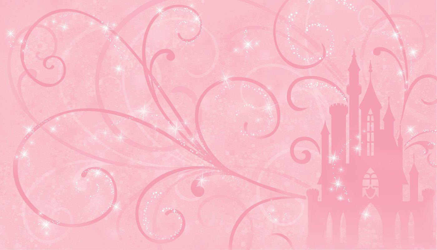 Walt Disney Kids II Princess Scroll Castle 10.5u0027 X 72 Part 56