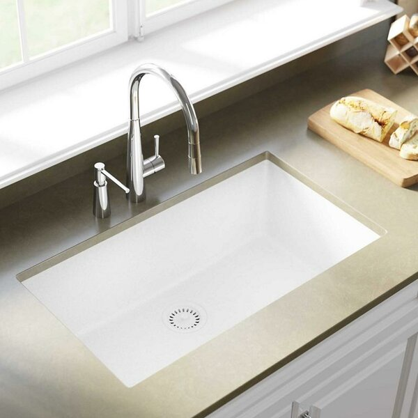 Elkay Quartz Classic 33 Quot X 18 Quot Undermount Kitchen Sink