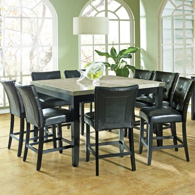 8 seat square kitchen dining tables you 39 ll love wayfair. Black Bedroom Furniture Sets. Home Design Ideas