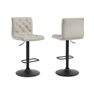 Ebern Designs Witney Adjustable Height Swivel Bar Stool