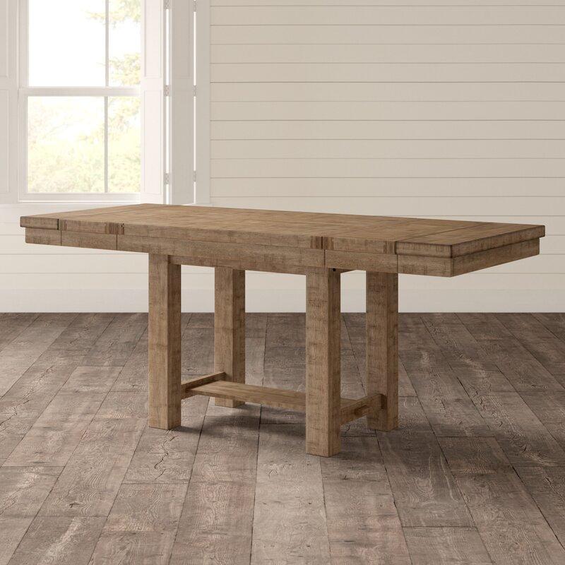 ff32670c225238 Laurel Foundry Modern Farmhouse Hillary Extendable Dining Table & Reviews |  Wayfair