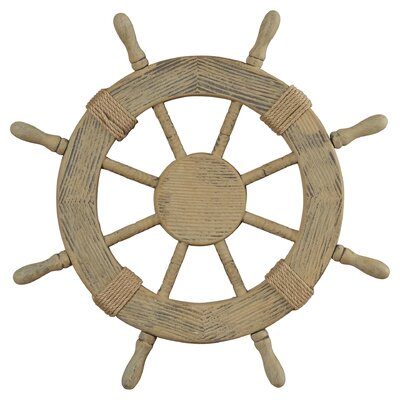 Nautical Ship Wheel Wall Décor & Reviews | Joss & Main
