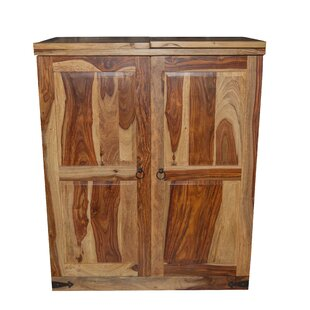 Traci Sheesham Wood Bar Cabinet