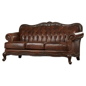 Leather Tufted Sofas Youu0027ll Love | Wayfair