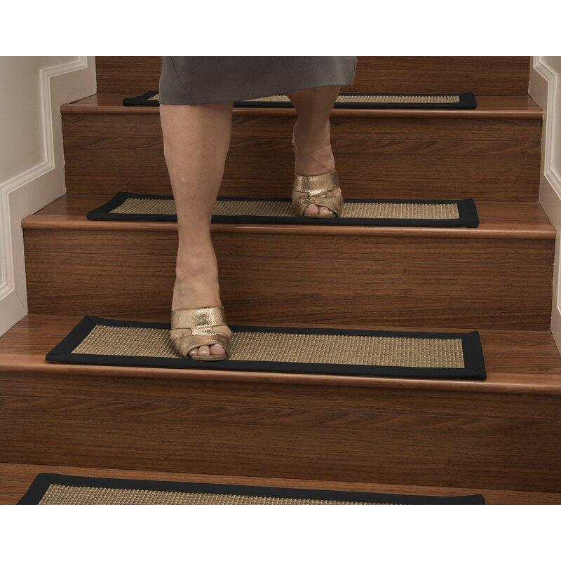 Beau Asther Custom Sisal Stair Tread