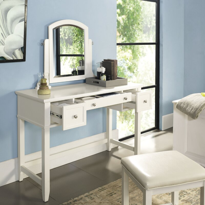Beachcrest Home Manette Vanity & Reviews