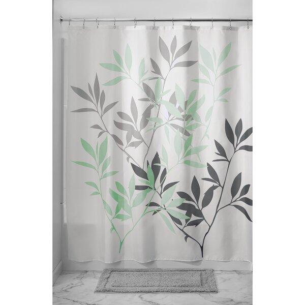 InterDesign Leaves Shower Curtain & Reviews | Wayfair