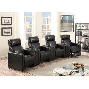 Ketter Home Theater Row Seating Of 4