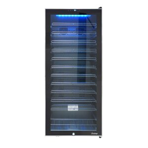 99 Bottle Single Zone Freestanding Wine Cooler by Vinotemp
