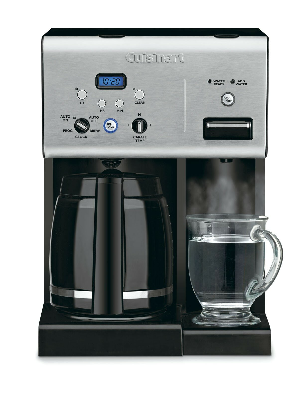 Cuisinart Programmable 12 Cup Coffee Maker With Hot Water System Reviews Wayfair