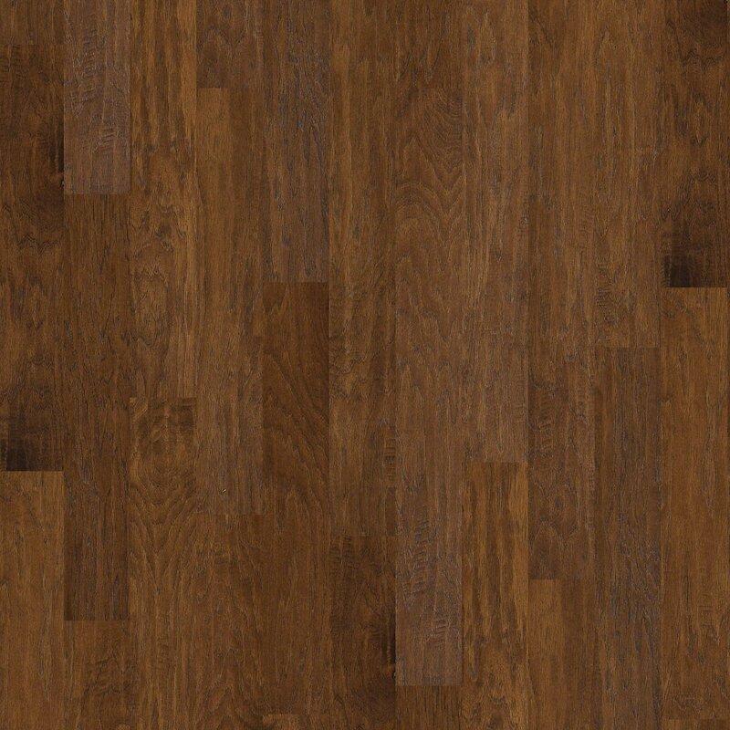 Shaw Floors Blackburn 5 Engineered Hickory Hardwood Flooring In