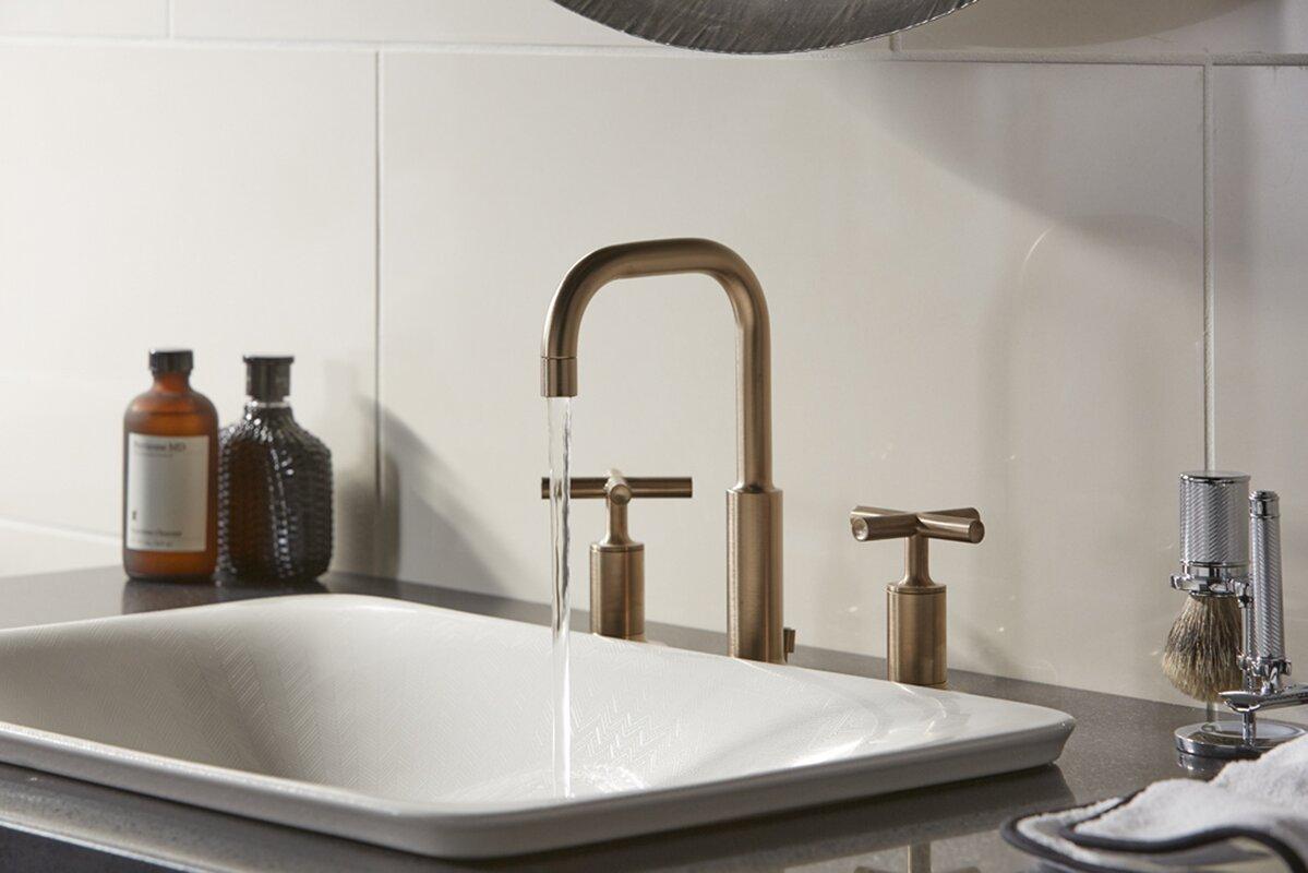 kohler sartorial vitreous china rectangular vessel bathroom sink