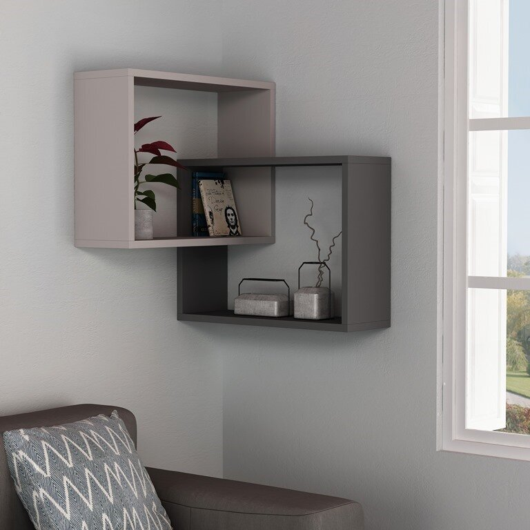 . Milo Modern Wall Shelf