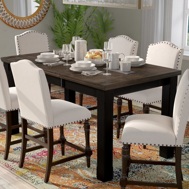 Landrum Counter Height Extendable Dining Table by Simmons Casegoods ...
