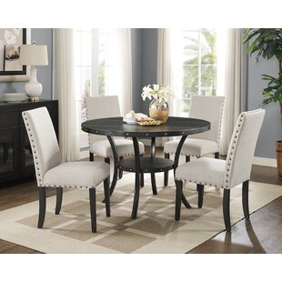 Charandeep 5 Piece Dining Set