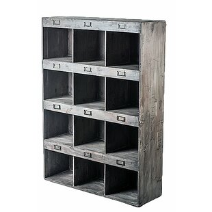 Sari Classic 12 Cubby Oversized Compartment Display Wall Shelf