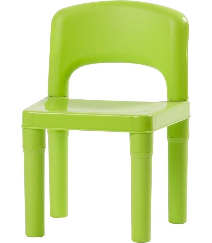 Jabari Kids 5 Piece Plastic Table And Chair Set