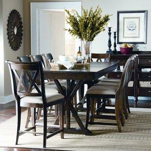 Rockton 9 Piece Wood Dining Set