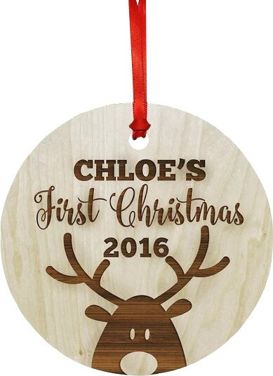 Custom Babys First Christmas Ornament Reviews Birch Lane