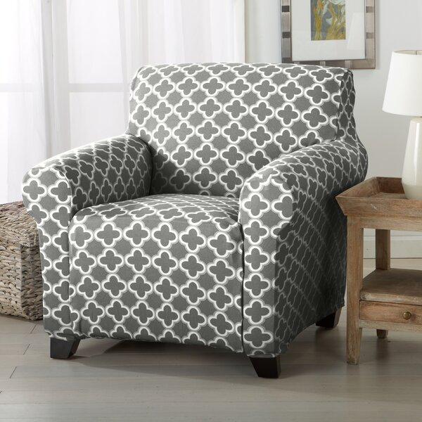 Home Fashion Designs Brenna Box Cushion Armchair Slipcover U0026 Reviews |  Wayfair