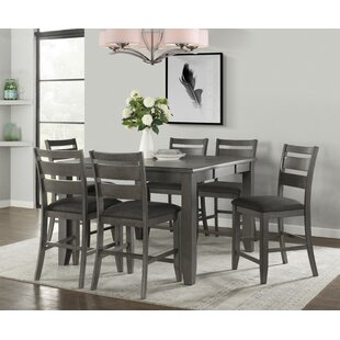 Osterhout 7 Piece Pub Table Set