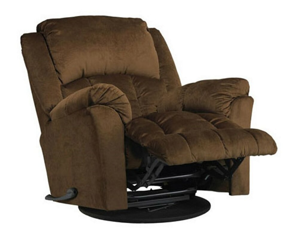 Wayfair Swivel Glider Chair: LYKE Home Manual Swivel Glider Recliner & Reviews
