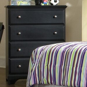 Midnight 4 Drawer Chest by..