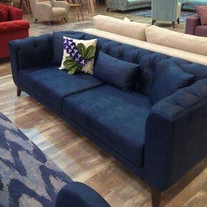 danos 3 seater nubuck sofa