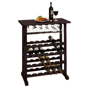 Eliza 24 Bottle Floor Wine Rack by Andover Mills