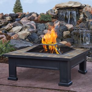 Breckenridge Wood Burning Fire Pit Table