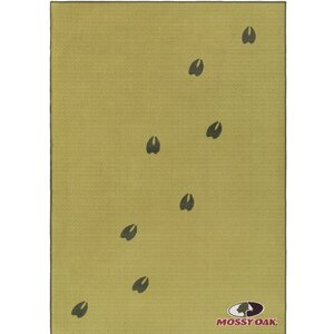 Big Sky Cabin Moss/Rifle Green Area Rug