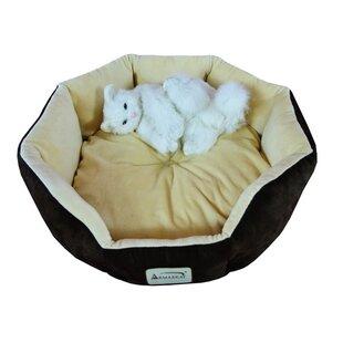 Cat Bed in Mocha & Beige by Armarkat