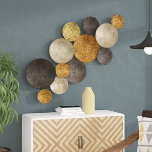 Multi Circles Wall Décor