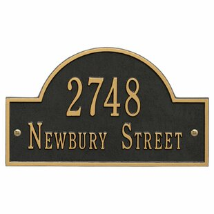 Address Plaques & Signs You'll | Wayfair on house numbers and letters, house number art, house number decorations, house numbers on door, house numbers above door, house on the rock, house number signs, house number plates, house number lamps, house number tiles, house number post, house number ideas, house number planters, house number stained glass patterns, house number decals, house number displays, house styles names, house number stencils, house number frames, house symbol,