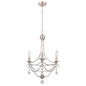 Metro 3-Light Candle-Style Chandelier