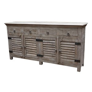 Troy 4 Drawer Sideboard by MOTI Furniture