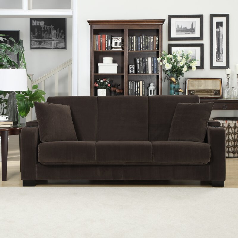 Trent Austin Design Ciera Covert a Couch Sleeper Sofa & Reviews