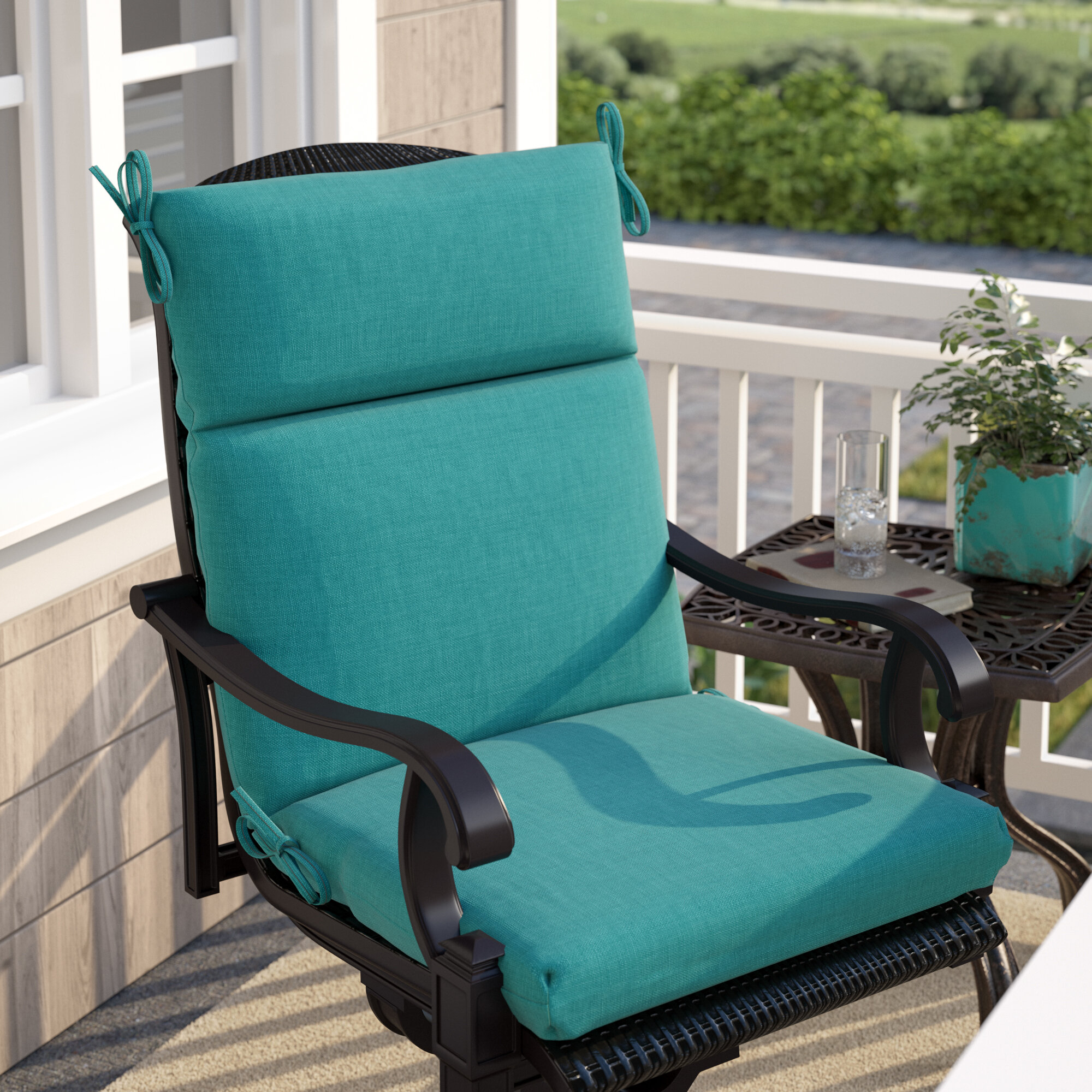 Groovy Indoor Outdoor Lounge Chair Cushion Beutiful Home Inspiration Aditmahrainfo