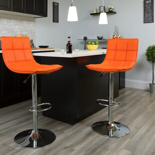 Navua Adjustable Height Swivel Bar Stool