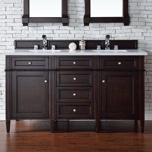 Quartz Bathroom Vanity Top. Deleon 60 Double Burnished Mahogany Quartz Top Bathroom Vanity Set
