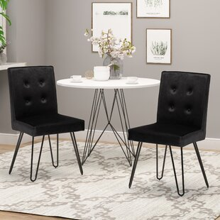 Poteet Upholstered Dining Chair (Set of 2)