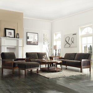 Wayne 4 Piece Living Room Set by Three Posts