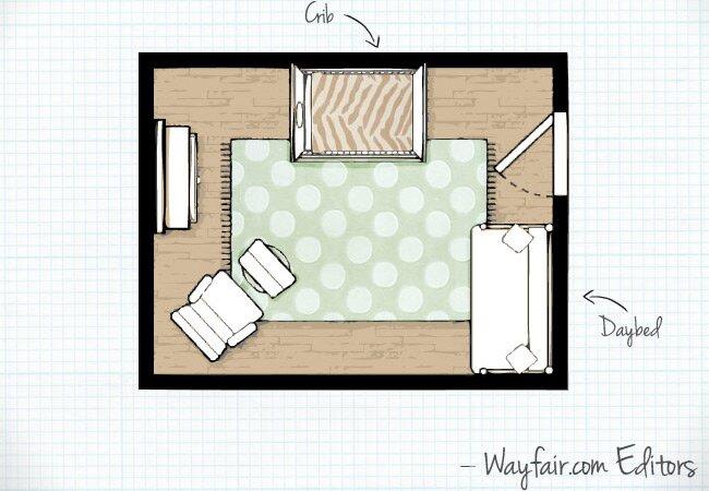 Baby Nursery Room Layouts Wayfair