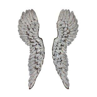 Metal Angel Wings Wall Décor
